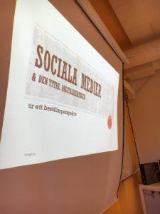 Implementering Sociala Medier