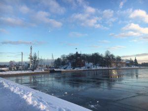 kallt Stockholm